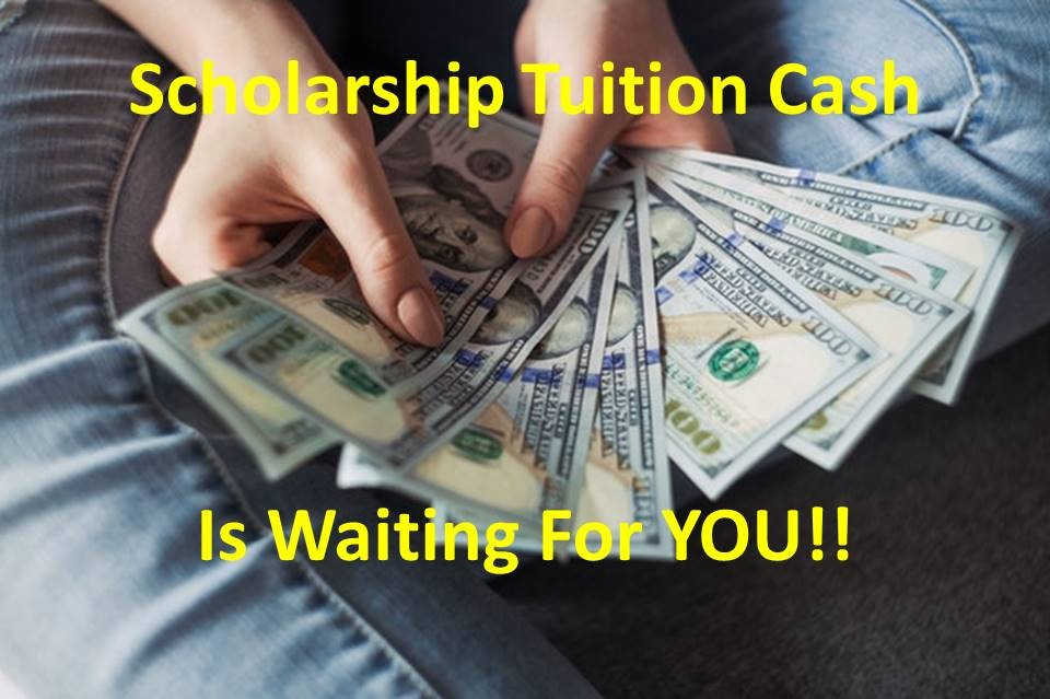 Scholarships for free money is wating for you. Come and get it.